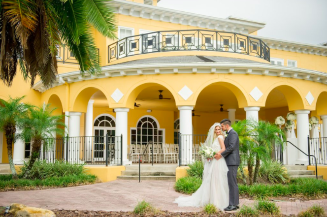 Tampa Palms Bay and Country Club Romantic Southern-Styled Wedding Shoot