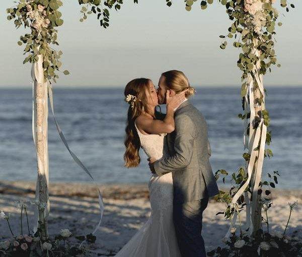Gasparilla Inn and Resort Boho Chic Beach Wedding