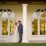 romantic Florida wedding A Chair Affair bride and groom
