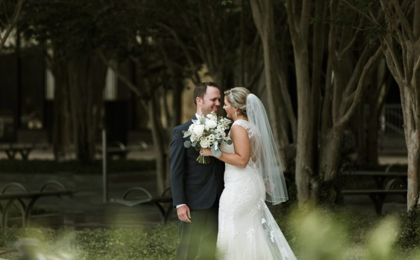 Mahaffey Theater Wedding in Stunning Pink, Ivory and Gold