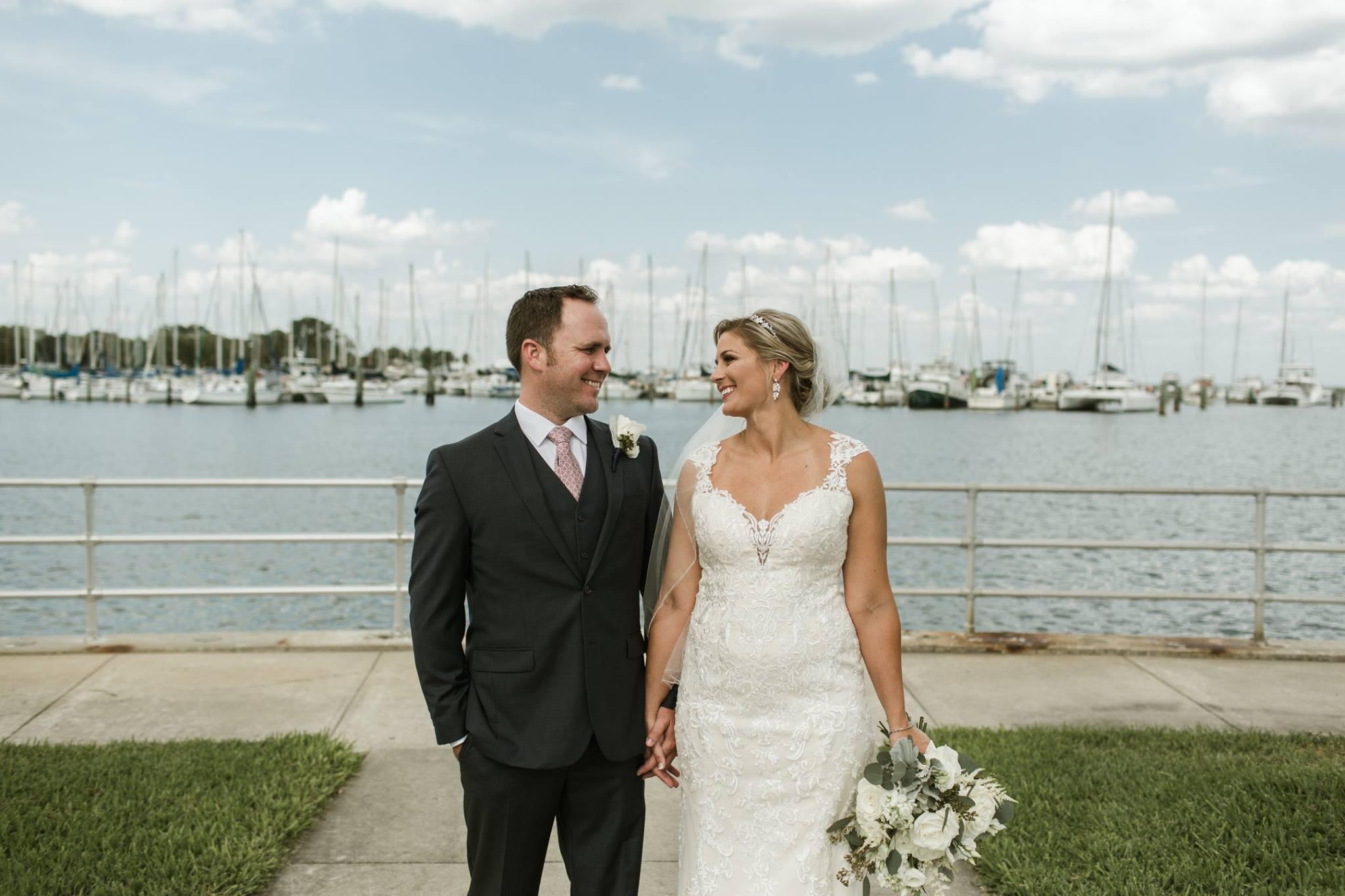 Waterfront, A Chair Affair, Finny Hill Photography, Mahaffey Theater Wedding