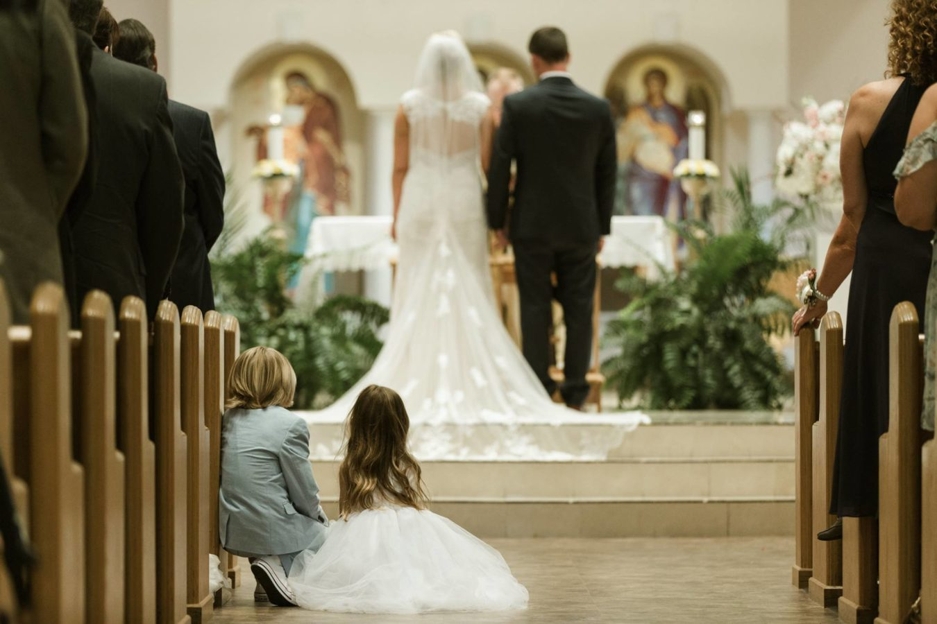 Church Ceremony, A Chair Affair, Finny Hill Photography, Mahaffey Theater Wedding