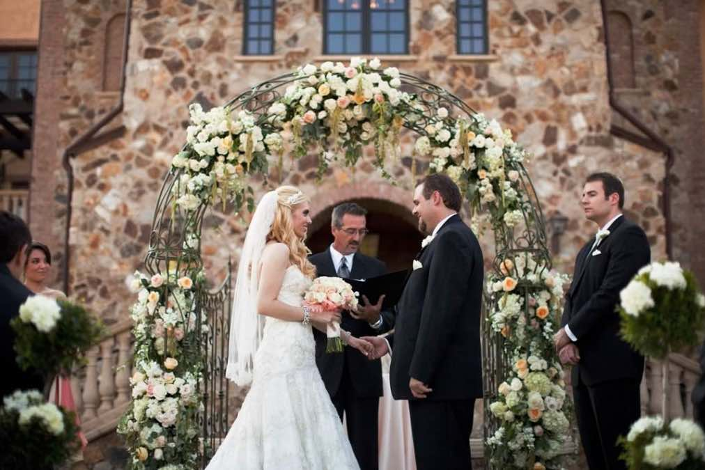 Floral Decor Arch Greenery Productions A Chair Affair