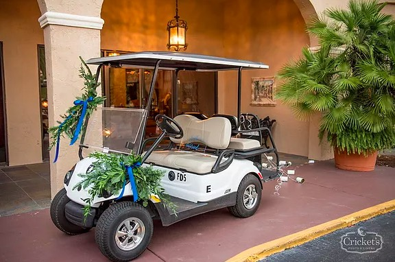 PWG Vendor Choice Awards A Chair Affair Golf Cart