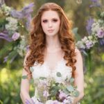 Vendor Spotlight The Flower Studio Enchanted Forest Shoot Captured by Belinda model wedding florist