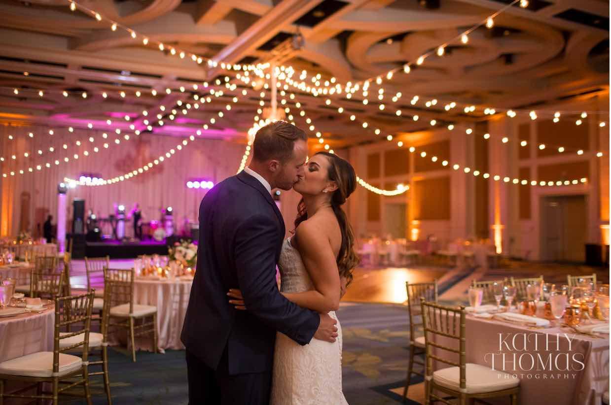 Alexa and Derek luxury Ritz Carlton wedding A Chair Affair gold Chiavari chairs ballroom