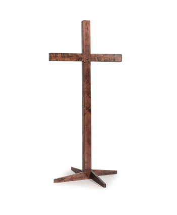 Mahogany Wooden Cross - A Chair Affair Rentals