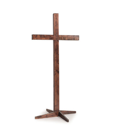Mahogany Wooden Cross – A Chair Affair Rentals