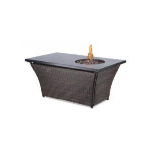 Rectangular Fire Pit - A Chair Affair Rentals