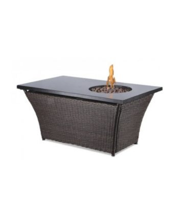 Rectangular Fire Pit - A Chair Affair Rentals
