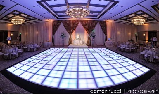 Dance floor, The Alfond Inn, A Chair Affair