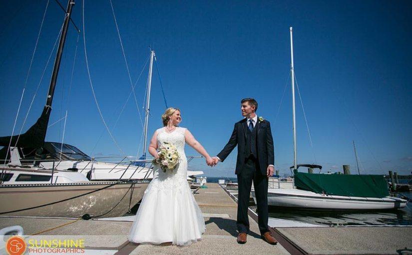 Mission Inn Resort Gold and Navy Wedding