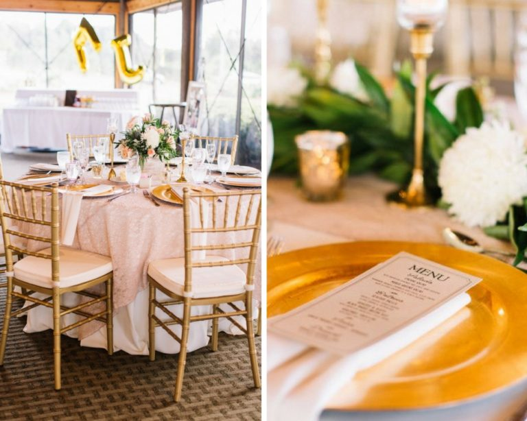 Mission Inn Resort, Marcoz and Miranda, A Chair Affair, gold chiavari chairs, gold glass chargers