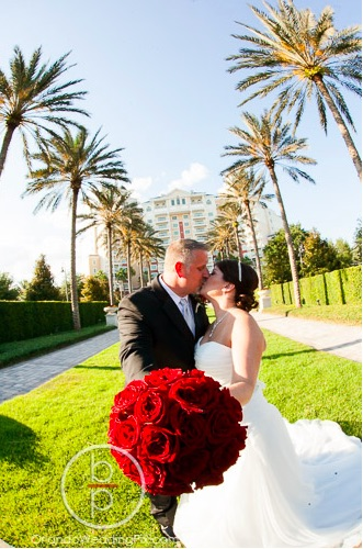 Reunion Resort Crimson and Ivory Wedding