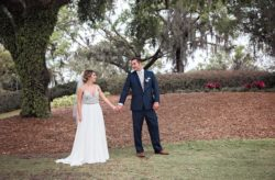 Isleworth Country Club Blush and Navy Wedding