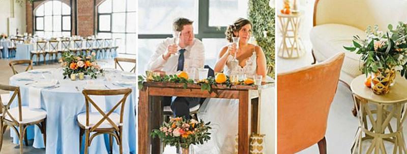 August Color Palette Wedding - A Chair Affair