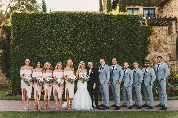 Bella Collina Fall Wedding-Bridal Party-A Chair Affair