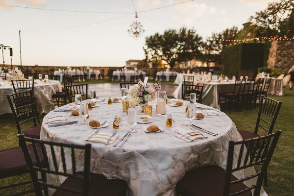 Bella Collina Fall Wedding-Chivari Chairs- Outdoor reception-A Chair Affair