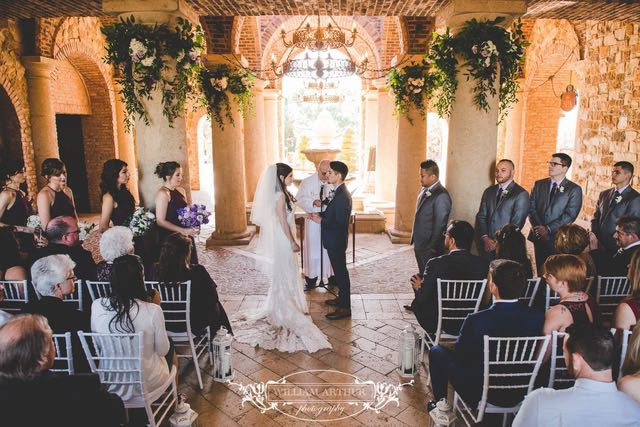 Bella Collina Wedding Ceremony Amy and Richard First Dance A Chair Affair William Arthur Photography