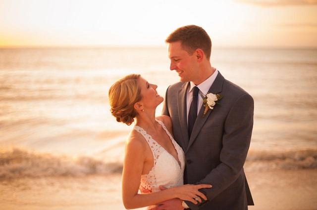 Carlouel Yacht Club Old Florida Wedding-Beach Bride and Groom-A Chair Affair