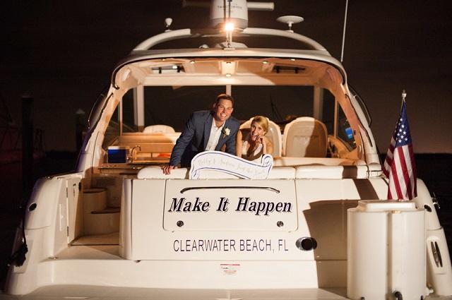 Carlouel Yacht Club Old Florida Wedding-Boat Send Off-A Chair Affair