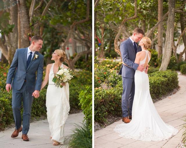 Carlouel Yacht Club Old Florida Wedding-First look-A Chair Affair