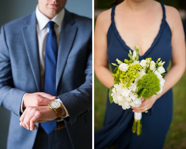 Carlouel Yacht Club Old Florida Wedding-Groom and Bridesmaid-A Chair Affair