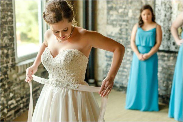 Davis Island Garden Club Outdoor Wedding- Bridal Gown-A Chair Affair
