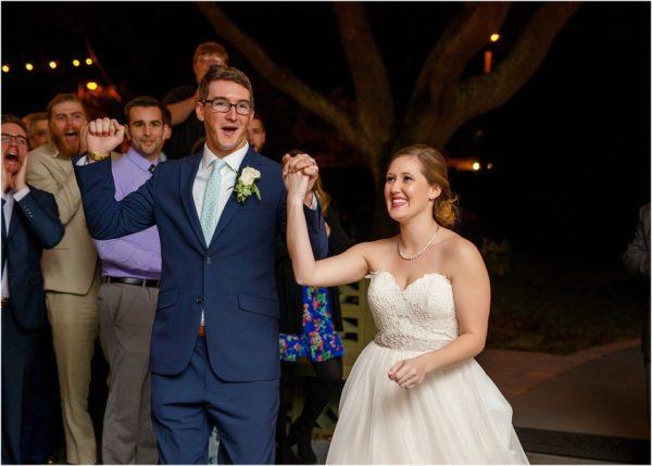 Davis Island Garden Club Outdoor Wedding-Bride and Groom- Reception-A Chair Affair