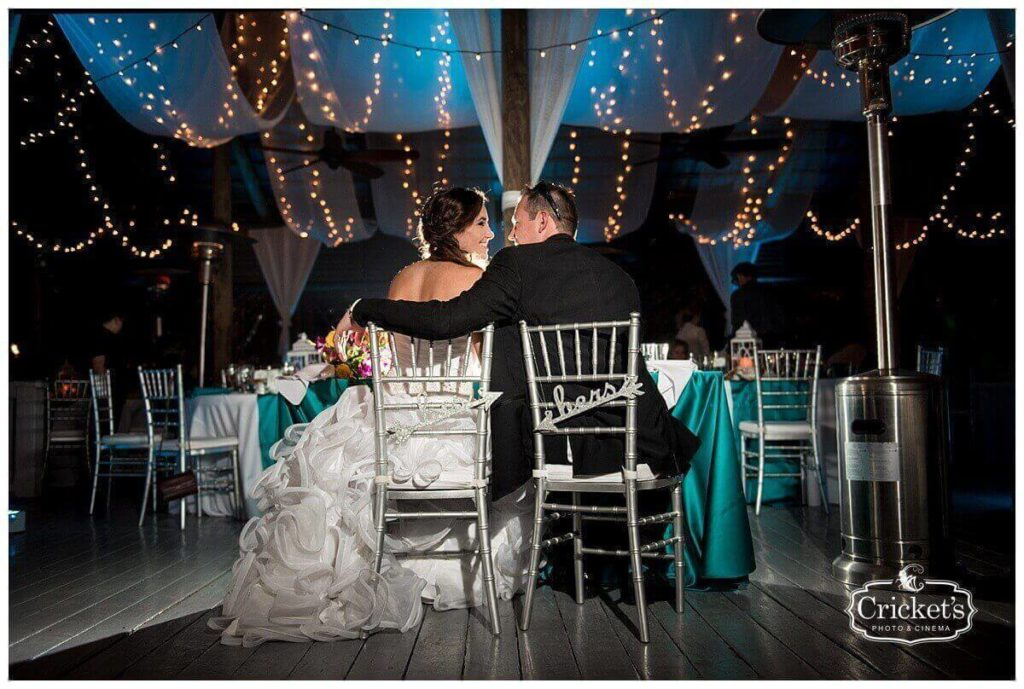 Paradise cove wedding a chair affair silver chiavari chairs