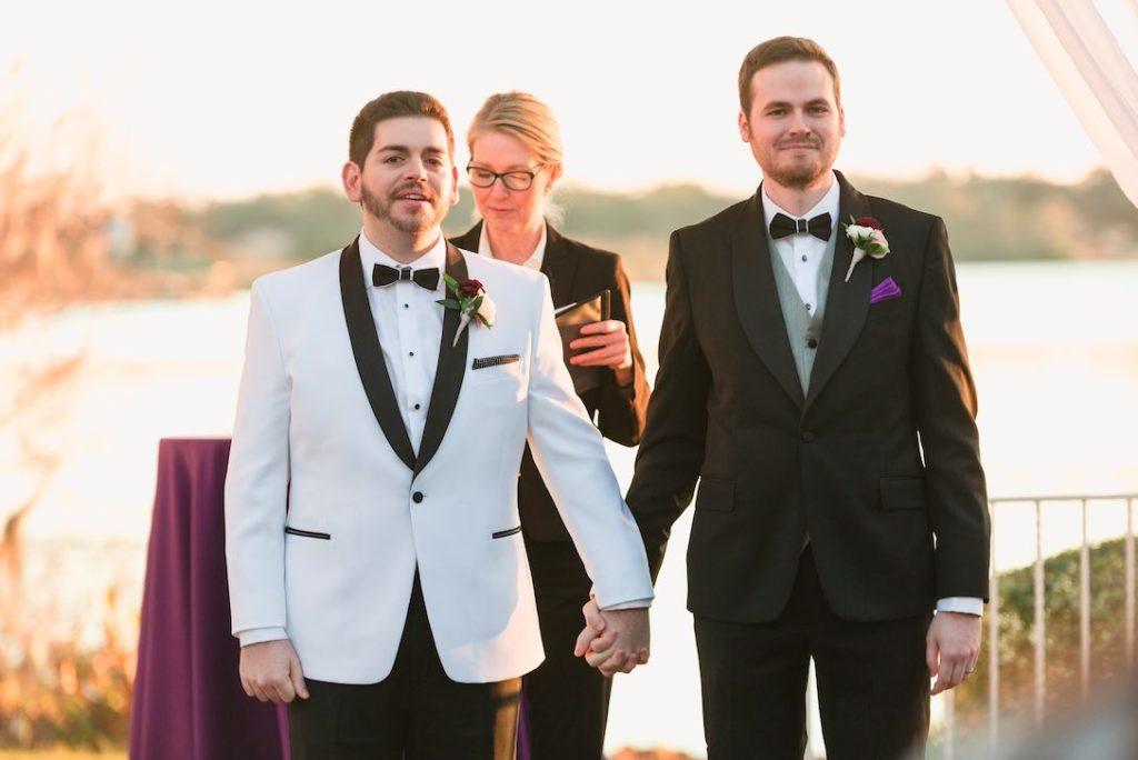 Rafael and Matt winter Cypress Grove Estate Wedding LGBT Wedding A Chair Affair Captured by Elle