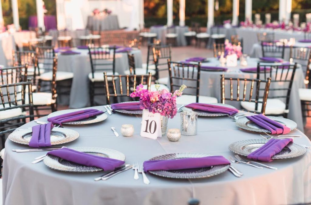 Rafael and Matt winter Cypress Grove Estate Wedding LGBT Wedding A Chair Affair black deco chargers and black Chiavari chairs Captured by Elle