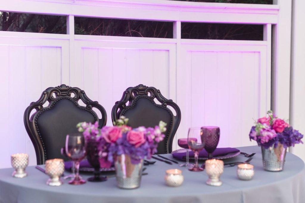 Rafael and Matt winter Cypress Grove Estate Wedding LGBT Wedding A Chair Affair black dynasty chairs Captured by Elle