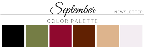 September 19 Color Palette - A Chair Affair