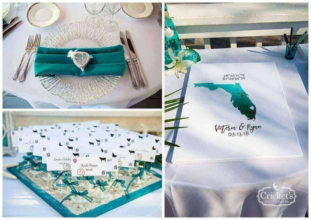 paradise cove beachy wedding a chair affair gatsby flatware