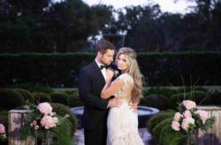 Stetson Mansion Glamorous Wedding