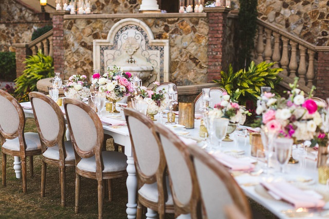 Bella Collina Wedding-Reception- The Richard Table-A Chair Affair