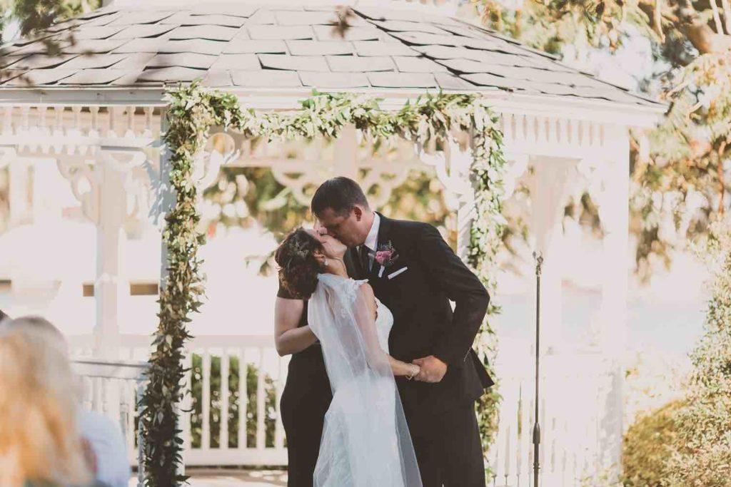Intimate Garden Wedding at Davis Island Garden A Chair Affair Ceremony