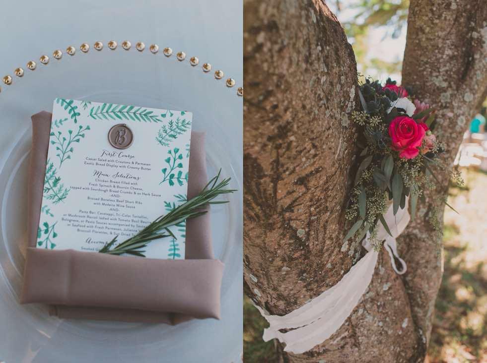 Intimate Garden Wedding at Davis Island Garden A Chair Affair Reception Gold Belmont Chargers