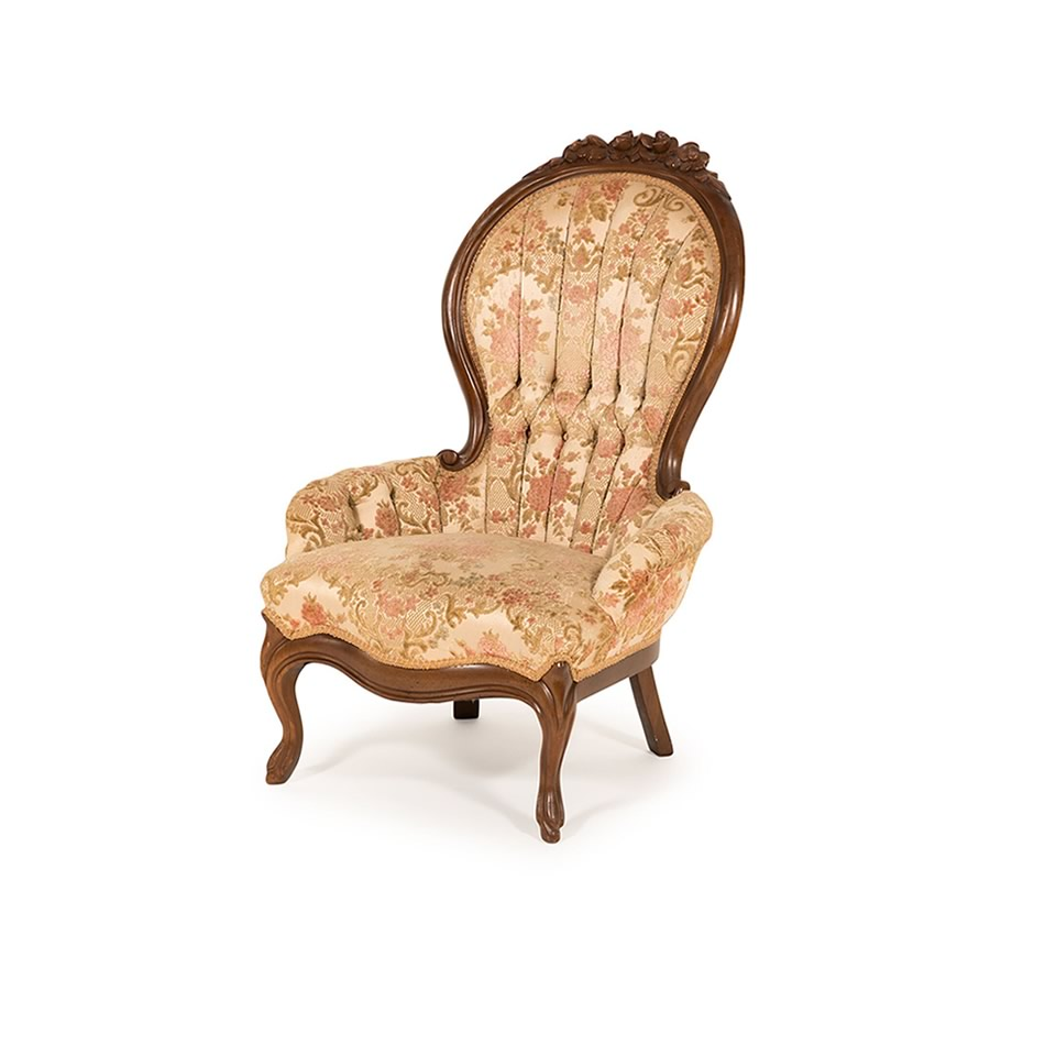 Renee Armless Chair - A Chair Affair Rentals