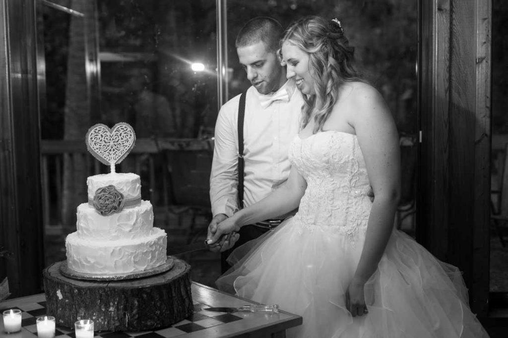 hammock house a chair affair bride and groom cake
