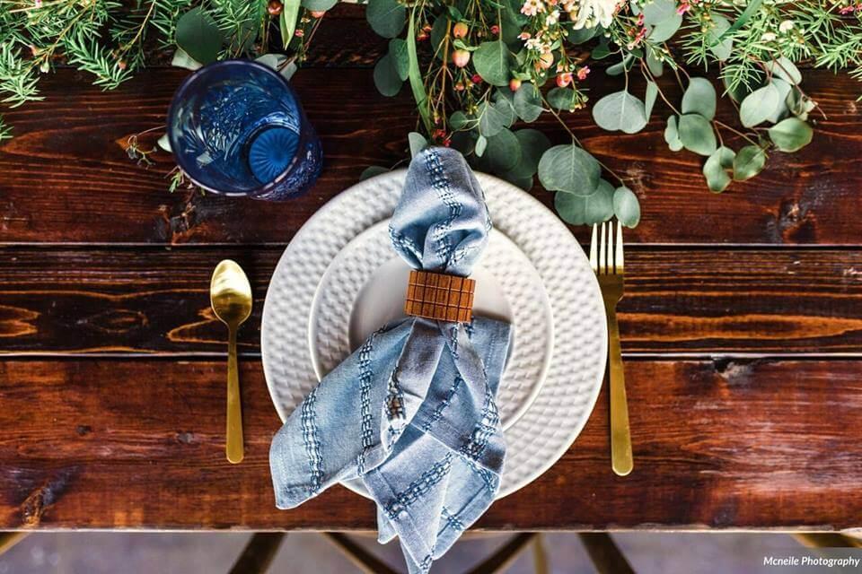 haus 820 a chair affair placesetting farm table