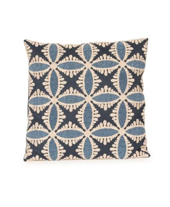 Blue Kaleidoscope Pillow - A Chair Affair Rentals