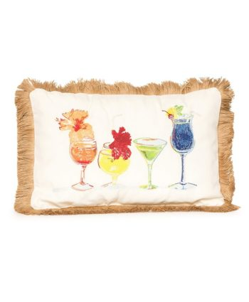 Cocktail Time Pillow - A Chair Affair Rentals