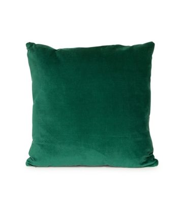Emerald Green Velvet Pillow - A Chair Affair Rentals