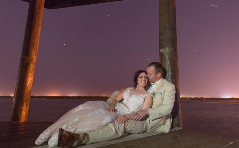 Estate on the Halifax Florida Rustic Spring Wedding