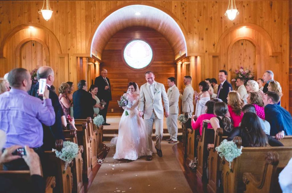 Florida Rustic Spring Wedding A Chair Affair Chapel Ceremony Mark Dickinson Photography