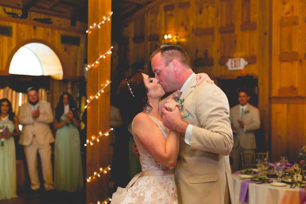 Florida Rustic Spring Wedding A Chair Affair Gold Chiavari Chairs First Dance Mark Dickinson Photography
