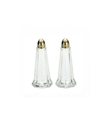 Gold Eiffel Tower Salt and Pepper Shakers