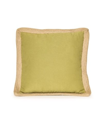 Lime Green Jute Trim Pillow – A Chair Affair Rentals
